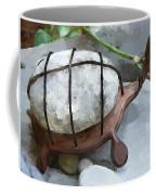 Turtle Full Of Rocks Coffee Mug