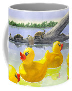 Turtle Log Coffee Mug