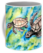 Turtle Love Pair Of Sea Turtles Coffee Mug