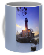 Turtle Rock Light House At Sunrise Coffee Mug