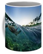 Turtle Split Coffee Mug