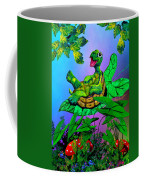 Turtle Trampoline Coffee Mug