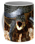 Turtle With His Mouth Wide Open  Coffee Mug