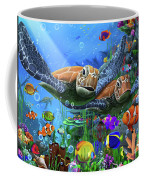Turtles Of The Deep Coffee Mug