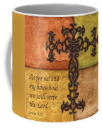Tuscan Cross Coffee Mug by Debbie DeWitt