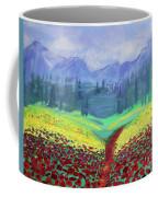 Tuscan Poppies Coffee Mug