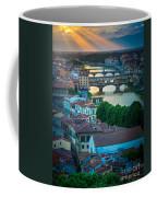 Tuscan Sunbeams Coffee Mug by Inge Johnsson