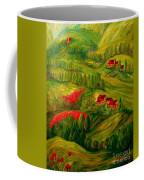Tuscany At Dawn Coffee Mug by Eloise Schneider
