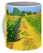 Tuscany Sunflowers Coffee Mug