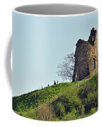 Tutbury Castle Ruins Coffee Mug