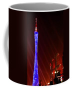 Tv Tower At Night Coffee Mug