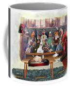 Twelve Angry Roosters Coffee Mug