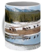 Twice The Elk Coffee Mug