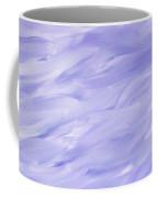 Twig Cross On Purple Coffee Mug