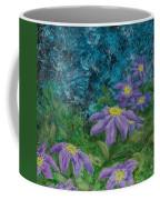 Twilight Clematis Coffee Mug