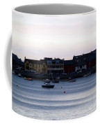Twilight In The Harbor At Skerries Coffee Mug