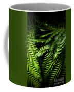 Twilight Rainforest Fern  Coffee Mug