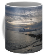 Twilight Steaming Into Charleston Harbor Coffee Mug