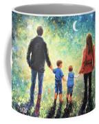 Twilight Walk Family Two Sons Coffee Mug