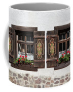 Twin Decorated Windows Coffee Mug