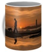 Twin Lakes Sunset Reflected Coffee Mug