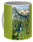 Twin Lakes Waterfall Coffee Mug