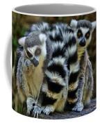Twin Lemurs Coffee Mug