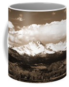 Twin Peaks In Sepia  Coffee Mug
