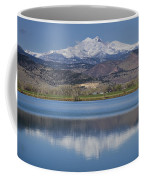 Twin Peaks Mccall Reservoir Reflection Coffee Mug by James BO  Insogna