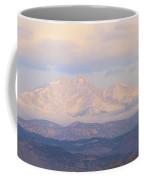 Twin Peaks Meeker And Longs Peak Panorama Color Image Coffee Mug by James BO  Insogna