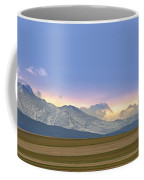 Twin Peaks Panorama View From The Agriculture Plains Coffee Mug