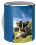 Twin Rocks At Brimham Coffee Mug