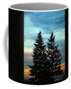 Twin Trees Coffee Mug