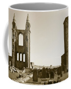 Twin Turrets And St. Rule's Tower Coffee Mug