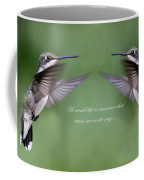 Twins Card - Hummingbirds Coffee Mug