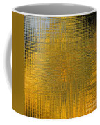 Twirl Art Yellow  Coffee Mug