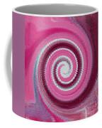 Twirl Pink  Coffee Mug