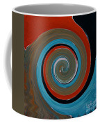 Twirl Red 01 Coffee Mug