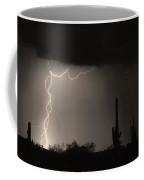 Twisted Storm - Sepia Print Coffee Mug