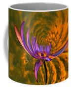 Twisted Waterlily Coffee Mug