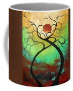 Twisting Love II Original Painting By Madart Coffee Mug