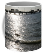 Two Anglers At Fort De Soto Coffee Mug
