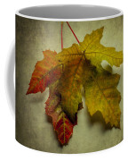 Two Autumn Leaves Coffee Mug