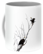 Two Bald Eagles Coffee Mug