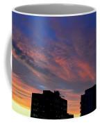 Two Buildings And Sky  Coffee Mug