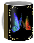 Two Butterflys -4 Coffee Mug