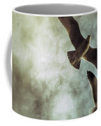 Two By Two They Flew Coffee Mug