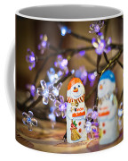 Two Chocolate Snowmen 2 Coffee Mug