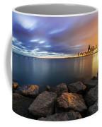 Two-colored Sky During The Sunrise Coffee Mug