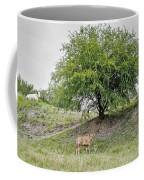 Two Cows And A Tree Coffee Mug